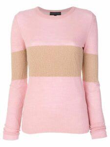 Cashmere In Love cashmere Vivien lurex stripe jumper - Pink