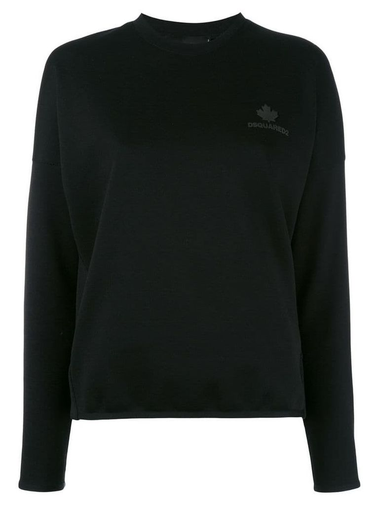 Dsquared2 crew neck jumper - Black