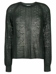 See By Chloé open knit jumper - Green