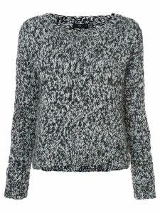 Voz knitted jumper - Black