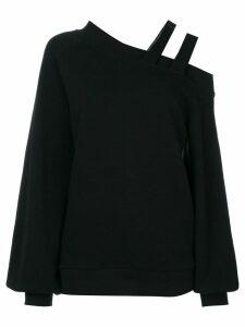 Ioana Ciolacu asymmetric knit jumper - Black