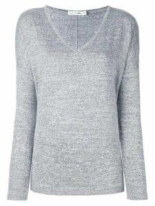 Rag & Bone /Jean melange v neck jumper - Grey