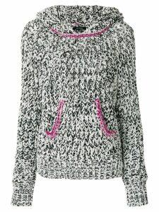 Isabel Marant knitted hooded jumper - Black