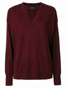 Isabel Marant V-neck pullover - Red
