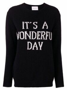 Alberta Ferretti It's A Wonderful Day jumper - Black