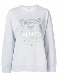 Kenzo embroidered logo sweatshirt - Grey