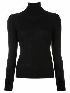 N.Peal cashmere roll neck jumper - Black