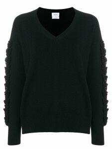 Barrie Troisieme Dimension cashmere V-neck pullover - Black