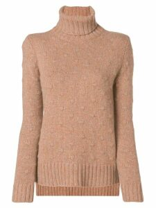 Borgo Asolo textured knit jumper - Yellow
