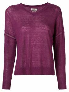 Isabel Marant Étoile V-neck jumper - Purple