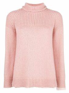 Dondup turtle neck jumper - Pink