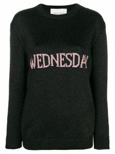 Alberta Ferretti Wednesday knit jumper - Black
