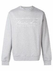 Martine Rose oversized fit sweatshirt - Grey