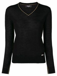 Dsquared2 V-neck sweater - Black