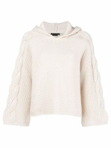 Alice+Olivia hooded sweater - Neutrals