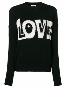 P.A.R.O.S.H. Love slogan jumper - Black