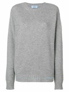 Prada knit jumper - Grey