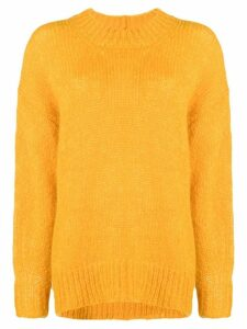 Isabel Marant oversized knit jumper - Yellow
