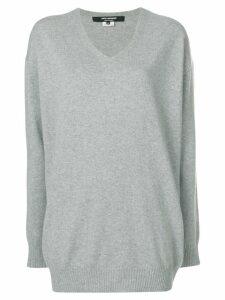 Junya Watanabe v-neck sweater - Grey