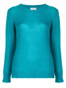 Moncler crew neck sweater - Blue