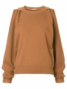 Nehera Krupat knitted jumper - Brown