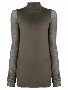 Rick Owens Lilies turtle neck jumper - Grey