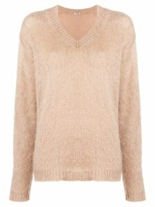 Miu Miu knitted jumper - Brown