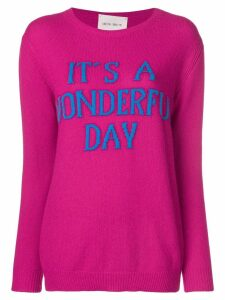 Alberta Ferretti It's a wonderful day sweater - Pink