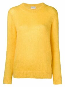 Moncler crew neck sweater - Yellow