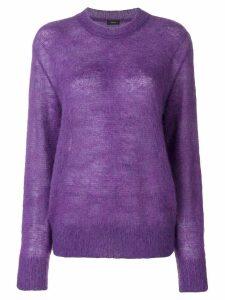 Joseph mohair knit - Purple
