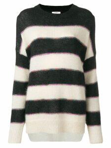 Isabel Marant Étoile Reece striped sweater - Black