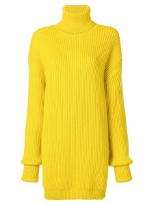 Maison Margiela long length sweater - Yellow