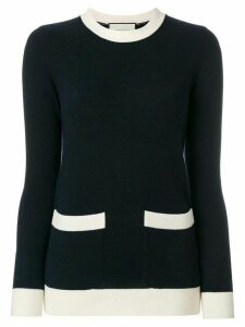 Gucci colour-block sweater - Blue