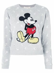 Marc Jacobs embroidered Mickey sweater - Grey