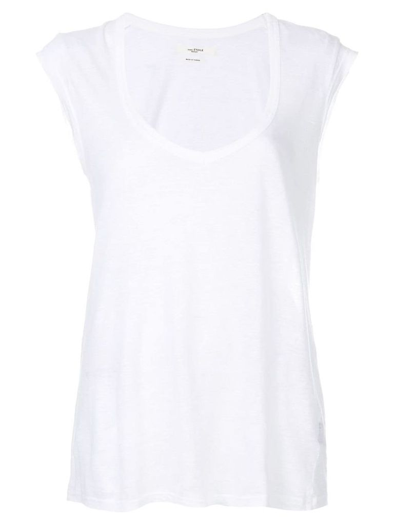 Isabel Marant Étoile V-neck tank top - White