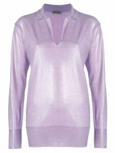 Bottega Veneta lilac wool sweater - Pink