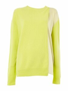 Haider Ackermann layered knitted top - Green