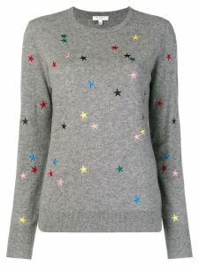 Equipment star embroidered sweater - Grey