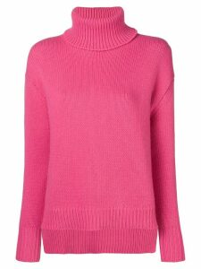 Golden Goose turtle-neck ribbed sweater - Pink