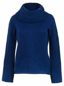 Uma Raquel Davidowicz Vera knitted blouse - Blue