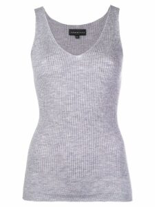 Cashmere In Love cashmere tank top - Grey