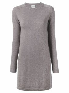 Le Kasha cashmere Bali knitted dress - Neutrals