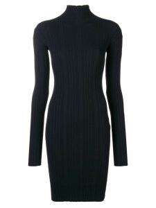Lanvin sweater fitted dress - Blue