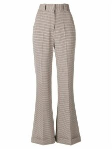See By Chloé flared leg trousers - Multicolour