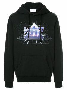 Ports V print hooded sweatshirt - Black