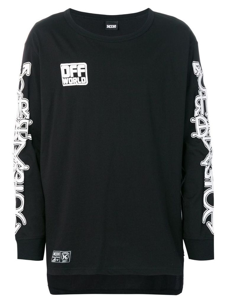 KTZ Masonic sweatshirt - Black