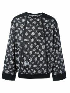KTZ monogram sweatshirt - Black