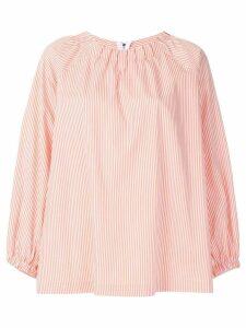 Vivetta striped blouse - White