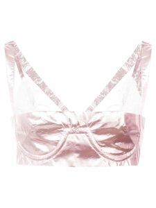 Neith Nyer Tiffany bralette top - Pink