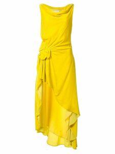 Monse Hi Lo top - Yellow